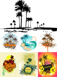 tropic-islands-vectors